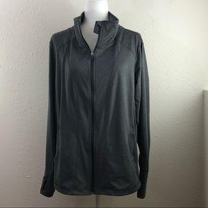 Exertek Gray Athletic Jacket